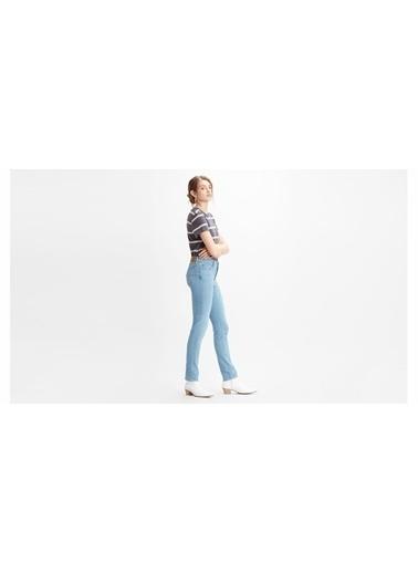Levi's® 188840190 712 Slim San Francisco Fog Slim Dar Paça Kadın Jean Pantalon İndigo